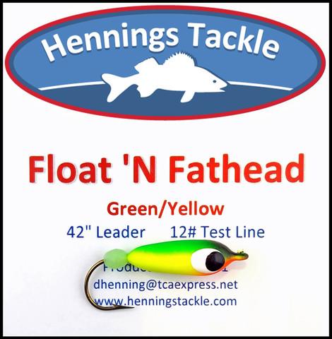 Float 'N Fatheads - Green/Yellow