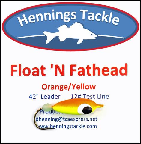 Float 'N Fatheads - Orange/Yellow