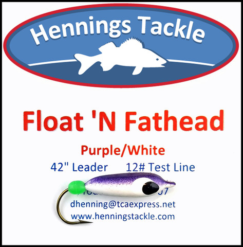 Float 'N Fatheads - Purple/White