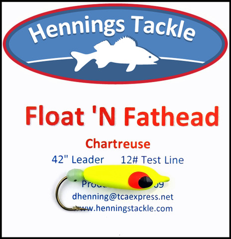 Float 'N Fatheads - Chartreuse