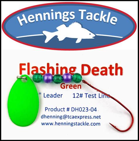 Flashing Death - Green