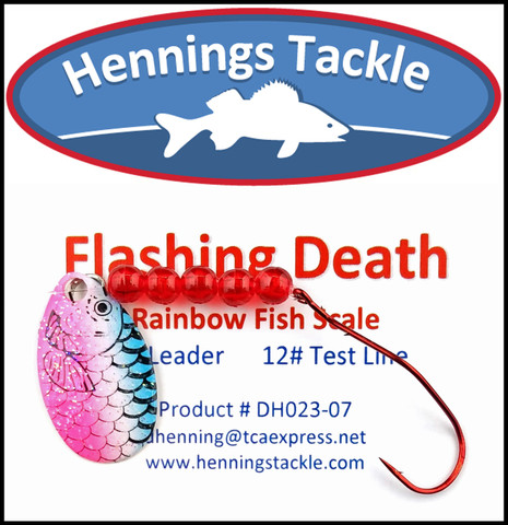 Flashing Death - Rainbow Fish Scale