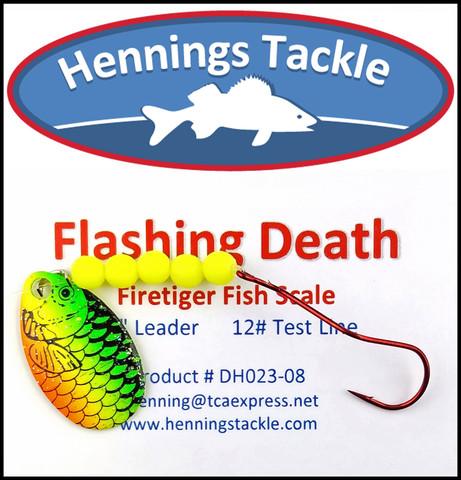 Flashing Death - Firetiger Fish Scale