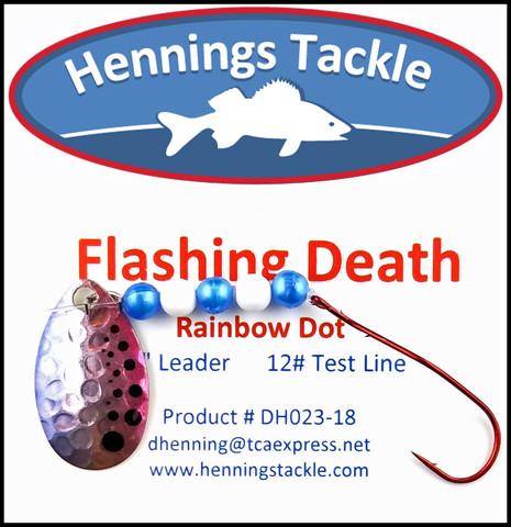 Flashing Death - Rainbow Dot