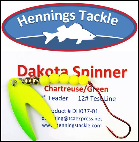 Dakota Spinner - Chartreuse/Green
