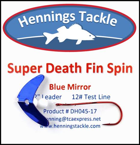 Super Death Fin Spins - Blue Mirror