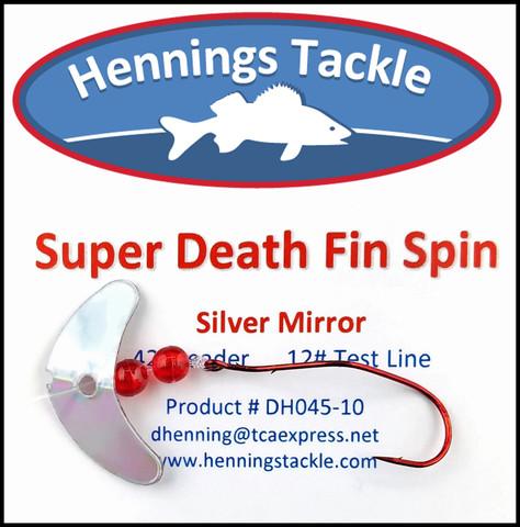 Super Death Fin Spins - Silver Mirror
