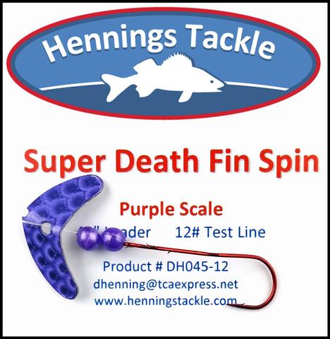 Super Death Fin Spins - Purple Scale