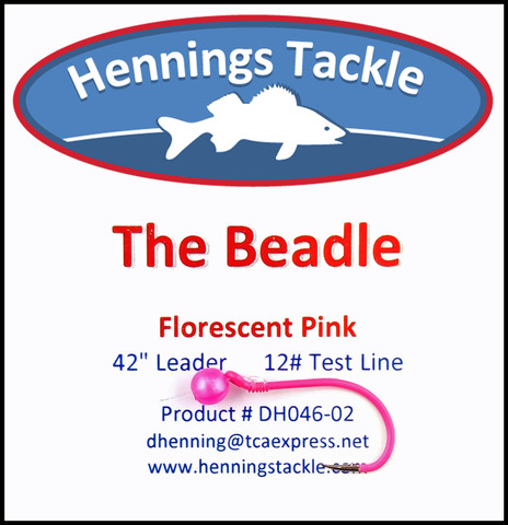 The Beadle - Florescent Pink