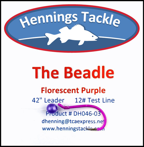 The Beadle - Florescent Purple