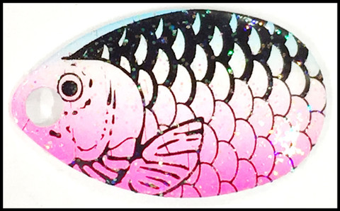 #3 Indiana Blades - Rainbow Fish Scale