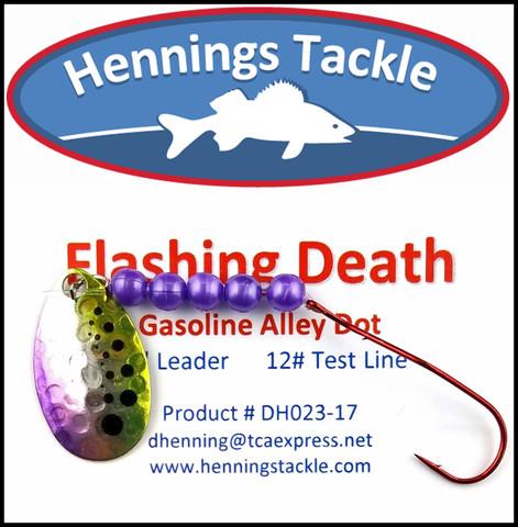 Flashing Death - Gasoline Alley Dot