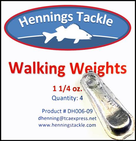 Walking Weights - 1 1/4 oz.