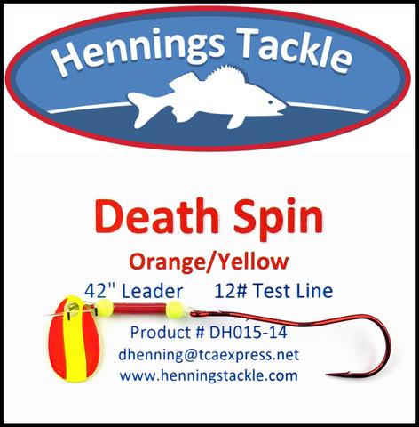 Death Spins - Orange/Yellow