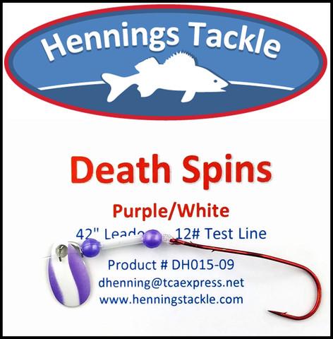 Death Spins - Purple/White