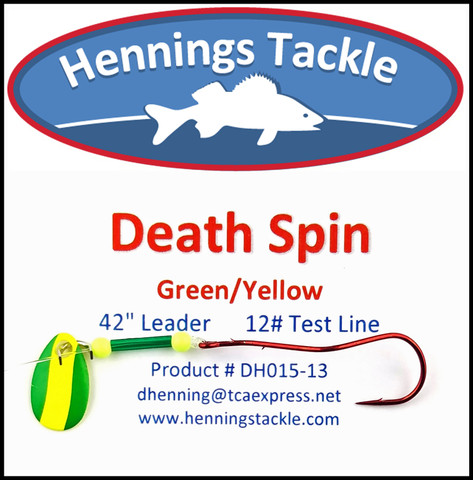 Death Spins - Green/Yellow