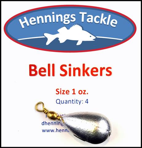 Bell Sinker - 1 oz.