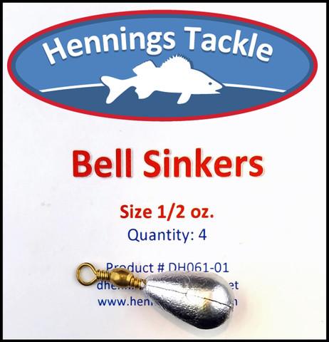 Bell Sinker - 1/2 oz.