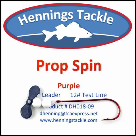 Prop Spins - Purple