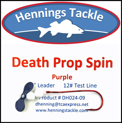 Death Prop Spins - Purple