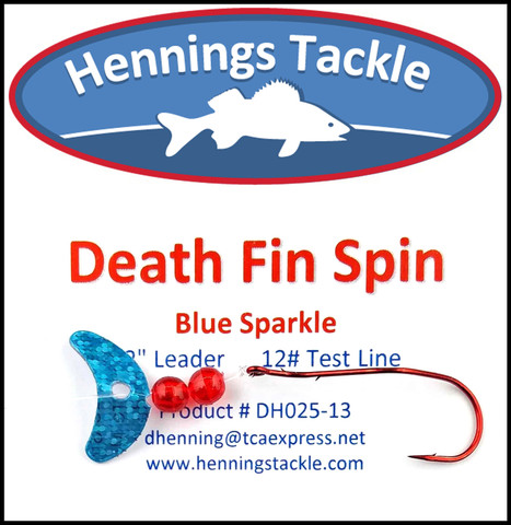 Death Fin Spins - Blue Sparkle