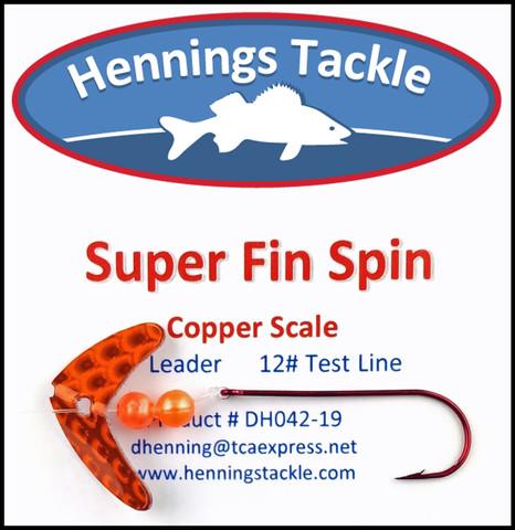 Super Fin Spins - Copper Scale
