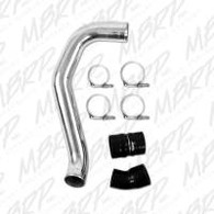 "MBRP 3"" Passenger Side Intercooler Pipe, polished aluminum"