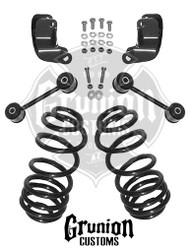 "Hummer H2 5"" Rear Drop Coil Springs"