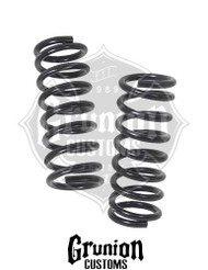 "Chevy C1500 Truck 1988-1998 Front 1"" Drop Coil Springs McGaughys 33132"