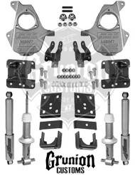 Chevy 1/2 Ton 3/5-4/6 Lowering Kit