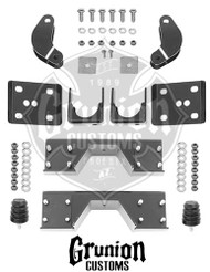 "Dodge Ram 1500 2002-2005 Crew Cab Rear 6"" Drop Kit McGaughys 44010"