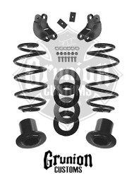 Chevy Suburban Air Ride 2007-2013 2/3 Lowering Kit McGaughys 34066