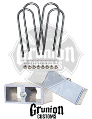 "Chevy Fullsize Car 2"" Lowering Block Kit"