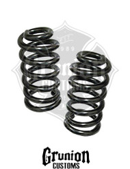 "Chevy C10 1963-1972 Front 1"" Drop Coil Springs McGaughys 63168"