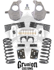 GMC Sierra  2001-2006 Single Cab 4/6 Lowering Kit McGaughys 93020