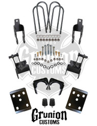 "Ford F150 2004-2008 Super Crew Cab Rear 4"" Drop Lowering Kit McGaughys 70007"