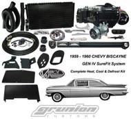 Vintage Air Chevy Biscayne 2 Lvr 1959-1960 Heat Defrost Air Conditioning  Unit