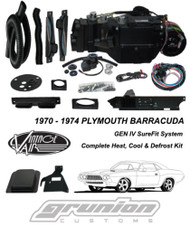 Vintage Air 1970-1974 Barracuda w/AC Std Gauges Air Conditioning Evaporator Kit