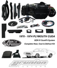 Vintage Air Plymouth Cuda 70-74 w/AC Rally Gauges Air Conditioning Evaporator