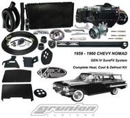 Vintage Air Chevy Nomad Wagon w/4 Lvr Cntrl Heat Defrost Air Conditioning Kit