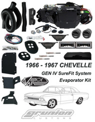 Vintage Air 1966 1967 Chevelle w/o AC Air Conditioning Evaporator Kit 561066