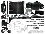 Vintage Air 1950 - 1953 Chevy Truck STD 6 CYL Air Conditioning Defrost Heat Kit