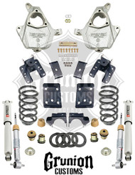 Chevy Silverado 1500 Single Cab 2007-2013 3/4 - 5/6 Lowering Kit Belltech