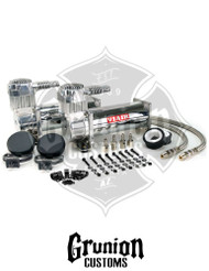 Viair 444C Chrome Compressor Dual Pack Air Ride Suspension 44432