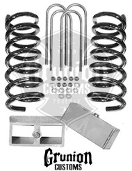 Dodge Ram SRT Lowering Kit