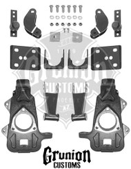 Dodge Ram 1500 2006-2008 Extended Cab 2/4.5 Lowering Kit McGaughys 44014