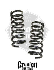 "Dodge Ram 1500 2009-2016 Extended Cab Front 2"" Drop Coil Springs McGaughys 44061"
