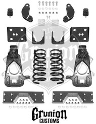 Dodge Ram 1500 2006-2008 Quad Cab 4/6 Lowering Kit McGaughys 44024
