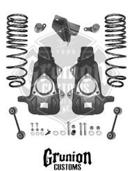 Dodge Ram 1500 2009-2016 Quad Cab 2/4 Lowering Kit McGaughys 44050