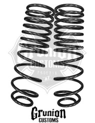 "Dodge Ram 1500 2009-2016 Quad Crew Cab Rear 2"" Drop Coil Springs McGaughys 44055"